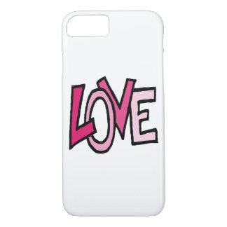 Love (funky word) iPhone 7 case