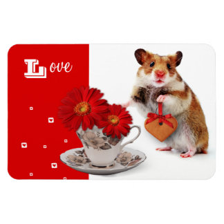 Love. Funny Hamster Mother's Day Gift Magnet