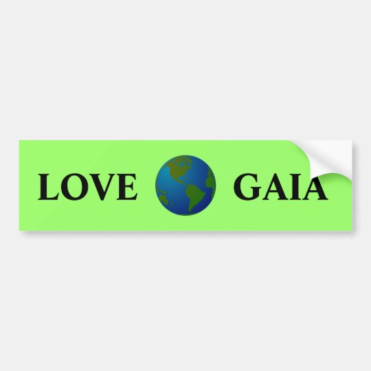 Love Gaia Bumper Sticker