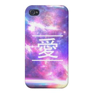 Love Galaxy Nebula Stars iPhone 4/4S Cover