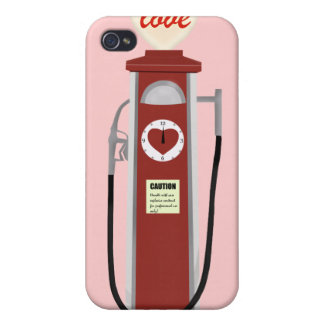 Love Gas Pump iPhone 4/4S Covers