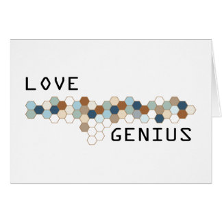 Love Genius Greeting Cards