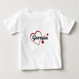 Love Georgia Hearts Infants T-shirt