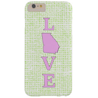 LOVE Georgia State Map Barely There iPhone 6 Plus Case