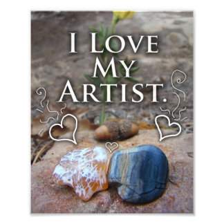 Love Gifts for Artists, Picasso Stone Print Photo