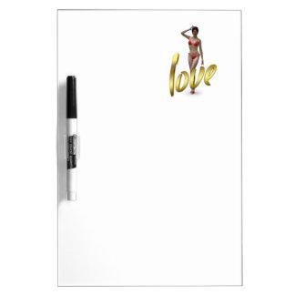 Love Girl Xiao Wen Dry-Erase Boards
