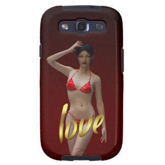 Love Girl Xiao Wen Samsung Galaxy S3 Case