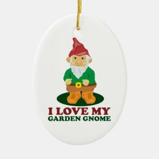 Love Gnome Ornament