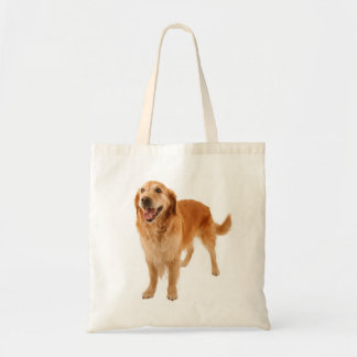 Love Golden Retriever Puppy Dog Tote Bag