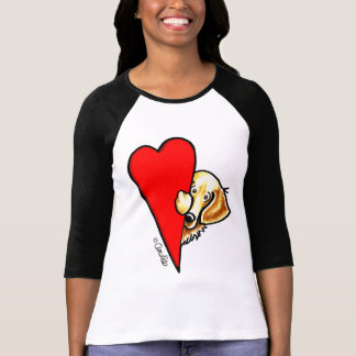 Love Golden Retrievers T-Shirt