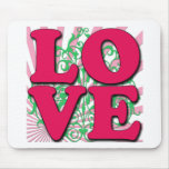 Love Gone Wild Mouse Mats