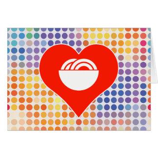 Love Gourmet Greeting Card