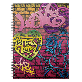 Love Graffitti Notebook