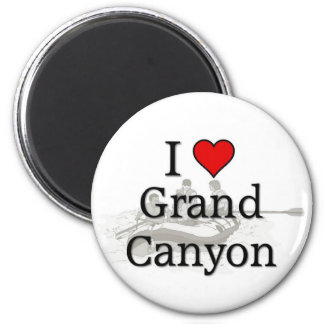 Love Grand Canyon 6 Cm Round Magnet