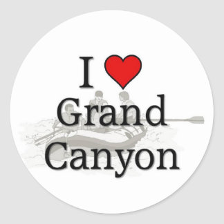 Love Grand Canyon Stickers