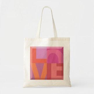 Love Graphic tote bag