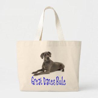 Love Great Dane Puppy Dog Tote Bag Jumbo Tote Bag