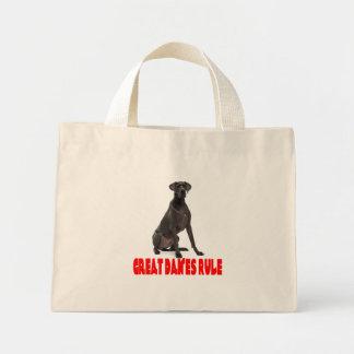 Love Great Dane Puppy Dog Tote Bag