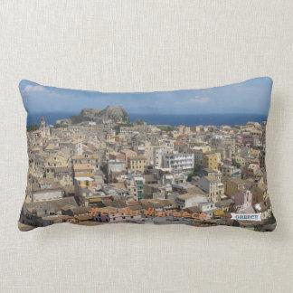 Love Greece Corfu cushio Lumbar Cushion