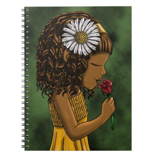 """""""Love"""" Green Notebook"""