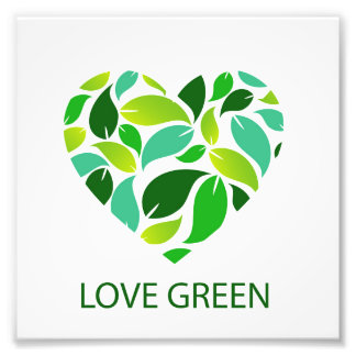 Love green photograph
