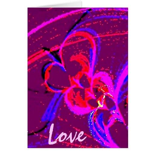Love Greeting Card by Maxwell Kerr