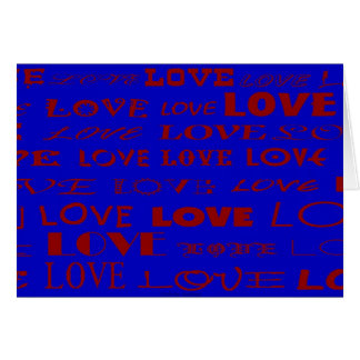 """""""Love"""" greeting card by Zoltan Buday"""