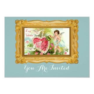 Love Greeting In Multi Colors 13 Cm X 18 Cm Invitation Card