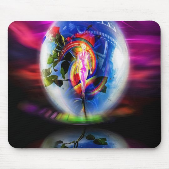Love greetings by air mail mouse mat