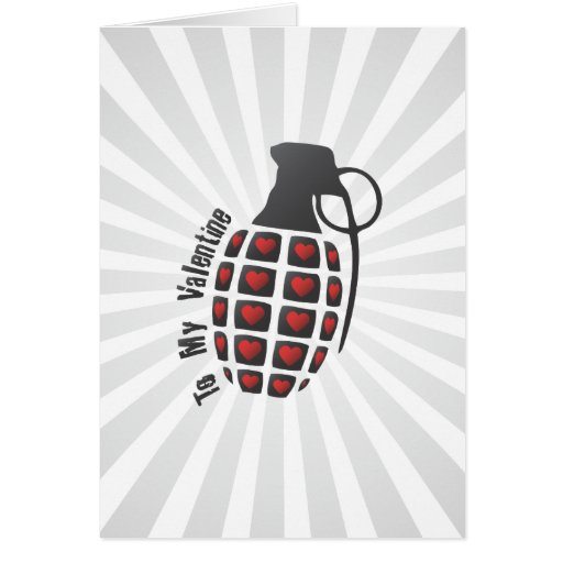 Love Grenade Card