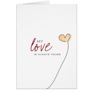 Love gretting card