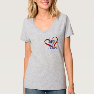 love grows here mother's day t-shirt design