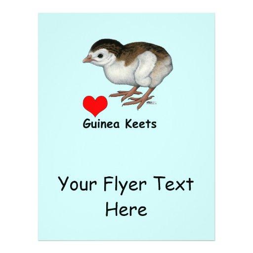 Love Guinea Keets Flyer