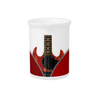 Love Guitar Beverage Pitchers