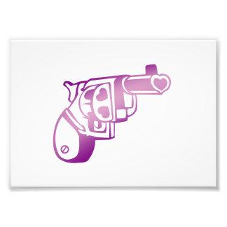 Love gun. art photo