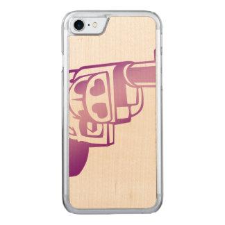Love gun. carved iPhone 7 case