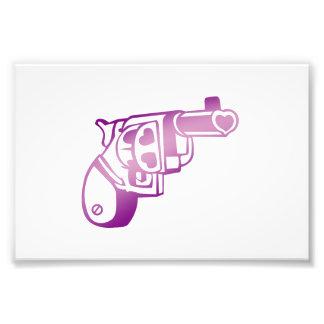 Love gun. photo print