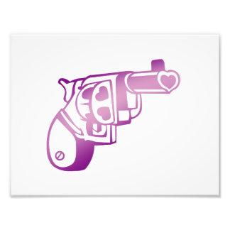 Love gun. photograph