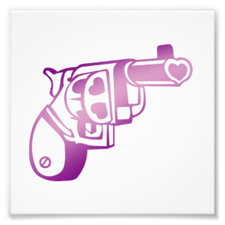Love gun. photographic print