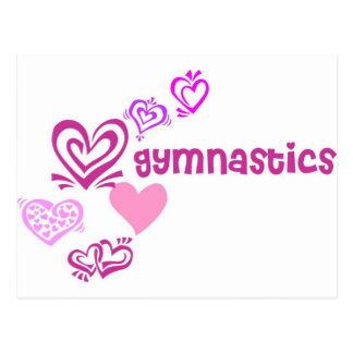 Love Gymnastics Postcard