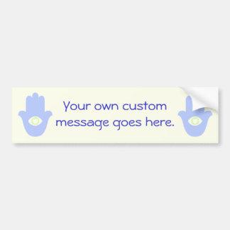 Love Hamesh Car Bumper Sticker