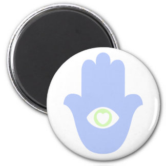 Love Hamesh 6 Cm Round Magnet
