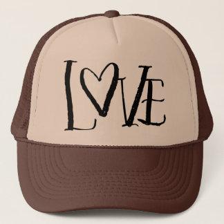 Love Hand Lettered Trucker Hat