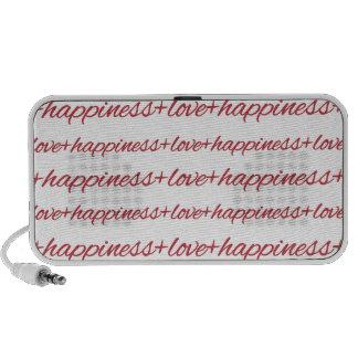 Love + Happiness Doodle Speakers