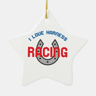 LOVE HARNESS RACING CERAMIC STAR DECORATION