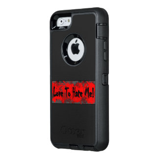Love & Hate! OtterBox iPhone 6/6s Case