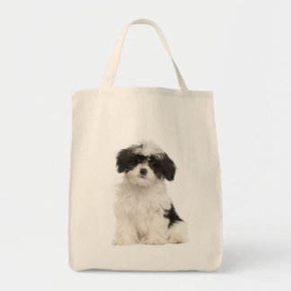 Love Havanese Puppy Dog Tote Bag