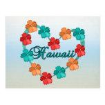 Love Hawaii Postcard