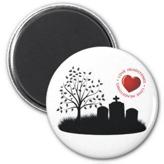 Love Headstones Magnets