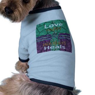 Love Heals Dog Tee